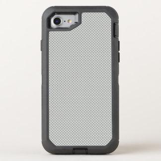 Polymer för vit- och grå färgkolfiber OtterBox defender iPhone 7 skal