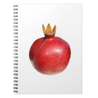 Pomegranate Anteckningsbok Med Spiral