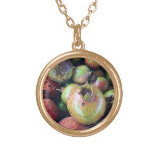 pomegranate guldpläterat halsband