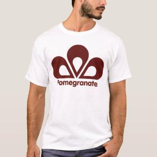Pomegranaten brännmärker utslagsplatsen t-shirt