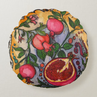 Pomegranaten Rund Kudde