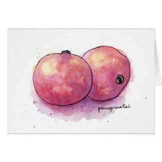 Pomegranates Hälsningskort