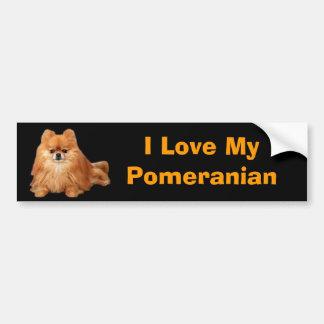 Pomeranian bildekal