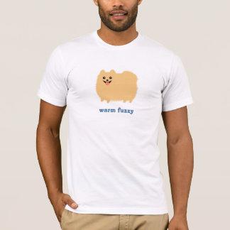 """Pomeranian """"varm luddig"""" gullig hund med t-shirt"""