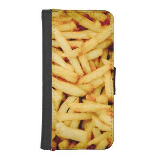 Pommes frites iPhone SE/5/5s plånboksfodral