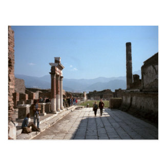 Pompeii fora vykort