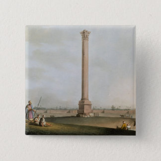 """Pompeys pelare, pläterar 14 från """"beskådar i egypt standard kanpp fyrkantig 5.1 cm"""