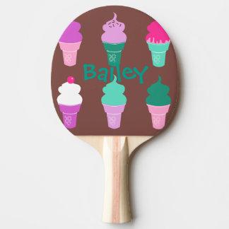 Pong för glasskottepingen paddlar pingisracket