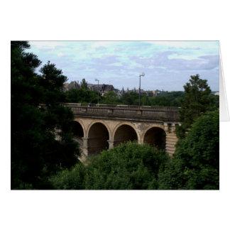Pont Adolphe, Luxembourg Hälsningskort