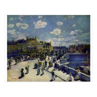 Pont Neuf vid Pierre-Auguste Renoir Vykort