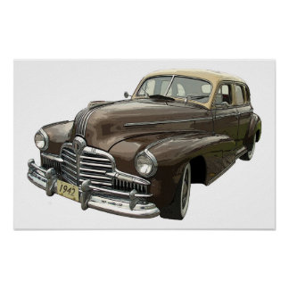 Pontiac 1942 poster