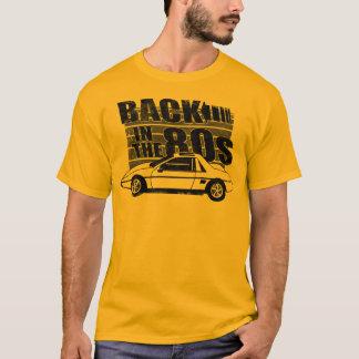 Pontiac Fiero baksida i den grafiska T-tröja för T Shirt