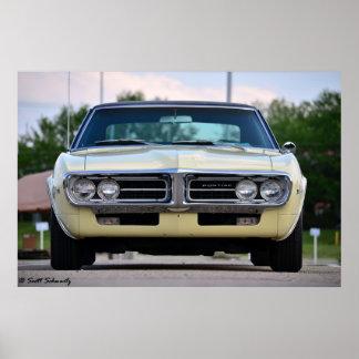 Pontiac Firebird 1967 Poster
