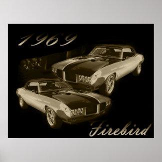 Pontiac Firebird 1969 Poster