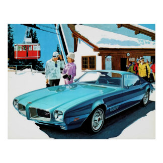 Pontiac Firebird 1971 Espirit Poster