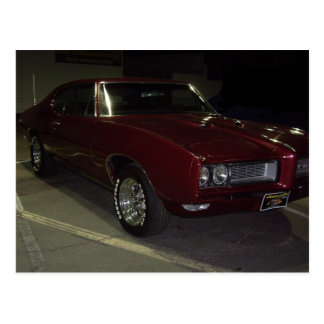 Pontiac GTO Vykort