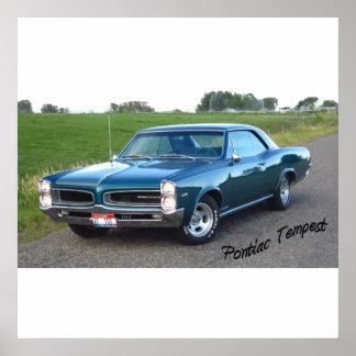 Pontiac storm 1966 poster