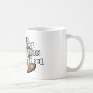 Pooping diamanter kaffemugg