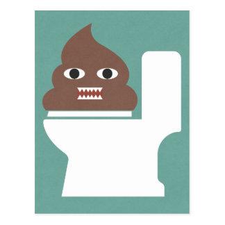 Poopmonster Vykort