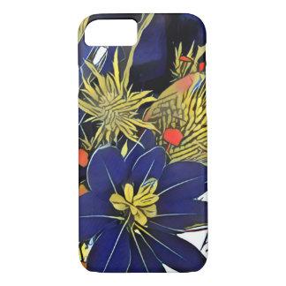 Pop-konst, geometrisk & blom- för iPhone 7 fodral