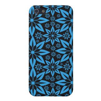 PopArt blått & iphone case för svartstjärnadesign iPhone 5 Cover