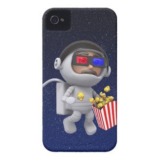popcorn för astronautet 3d flyter i utrymme Case-Mate iPhone 4 case