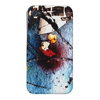 Popcorn i iphonen för snö #1 4G täcker iPhone 4 Fodraler