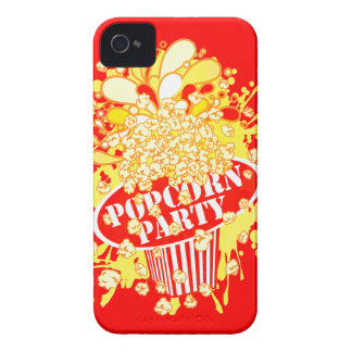 POPCORN_PARTY Case-Mate iPhone 4 CASE
