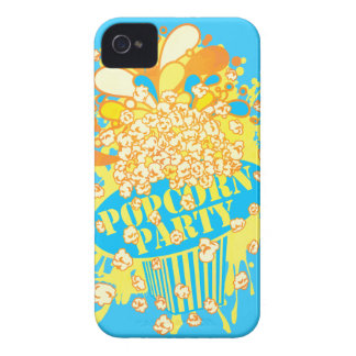 POPCORN_PARTY Case-Mate iPhone 4 SKYDD