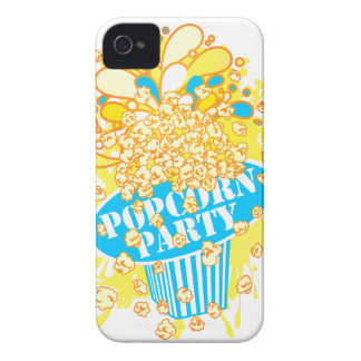 POPCORN_PARTY iPhone 4 Case-Mate FODRAL