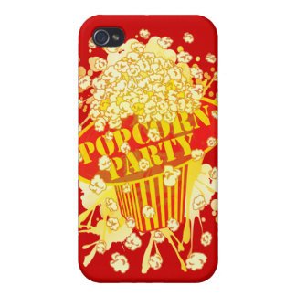 POPCORN_PARTY iPhone 4 CASES