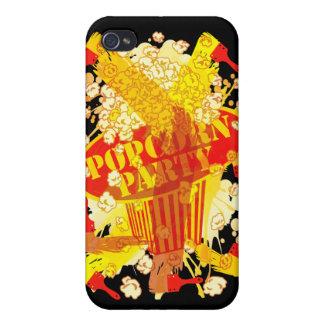 POPCORN_PARTY iPhone 4 FODRALER