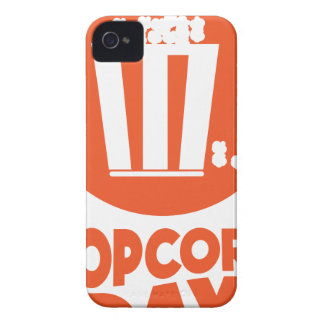 Popcorndag - gillandedag iPhone 4 Case-Mate skal