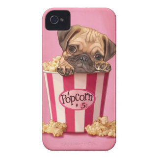 Popcornmops iPhone 4 Case-Mate Skal