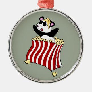 PopcornPanda!  Julgransprydnad Metall