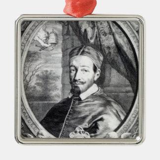 Pope Alexander VII Julgransprydnad Metall