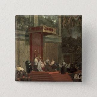 Pope Pius VII (Luigi Barnaba Chiaramonti) (1742-18 Standard Kanpp Fyrkantig 5.1 Cm