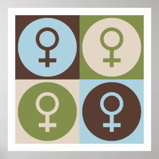 Popkonstfeminism Poster