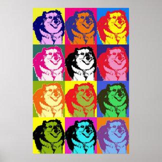 Popkonsthund Poster