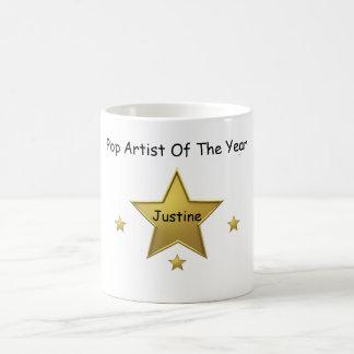 Popkonstnär av År-Justinen Kaffemugg