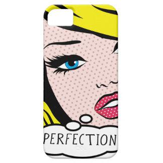 "Poppa fodral för iPhone 5 för konst ""PERFRCTION"" Barely There iPhone 5 Fodral"