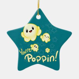 Poppin Popcorn Julgransprydnad Keramik