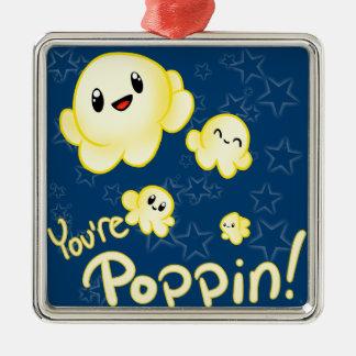 Poppin Popcorn Julgransprydnad Metall