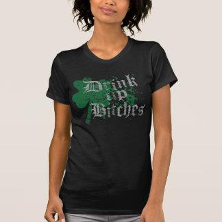 """Populär """"drink upp satkäring st patricks day tee shirt"""