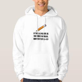 Populärast rita sweatshirt med luva