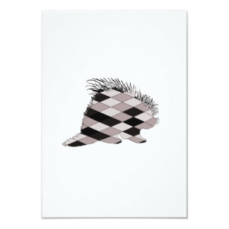Porcupine 8,9 X 12,7 Cm Inbjudningskort