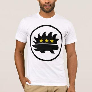 Porcupine för stjärna för en som tror på läran om t shirt