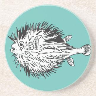 Porcupinefishaka Blowfish Underlägg