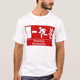 Porkchop Sandwhiches undertecknar T Shirts