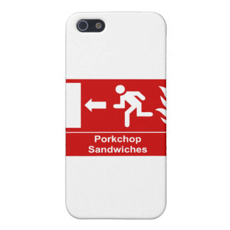 Porkchop smörgåsar iPhone 5 skydd